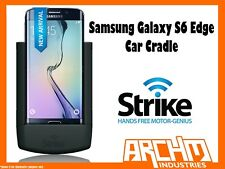 STRIKE ALPHA SAMSUNG GALAXY S6 EDGE CAR CRADLE - IN-BUILT CHARGER PROTECT HOLD