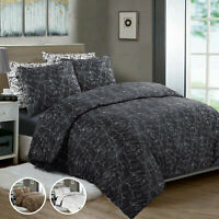 100% Polycotton Duvet / Quilt Cover Set With Pillowcases Single Double King Size