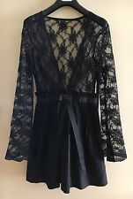 Jones and Jones Black, Lace Dress Size 8