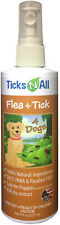 Ticks-N-All All Natural Flea & Tick Repellent Spray for Dogs and Puppies (8 oz)