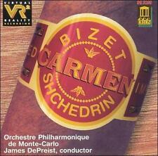 Bizet-Shchedrin: Carmen (CD, Mar-1997, Delos)