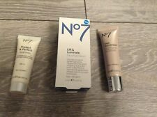 No7 Beauty Bundle Lift & Luminate Day & Night Serum/Skin Illuminator/ Hand Cream