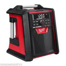 Milwaukee 2792-20 M18 18 Volt Jobsite Radio / Battery Charger Bluetooth Speaker