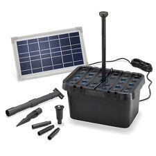 Solar Teichfilter Professional 8W 380 l/h Gartenteich Teichpumpe esotec 100900