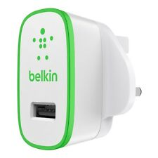 Belkin mixit 2.1 amp Universal USB Home Charger. iPhone, Samsung - White / Green