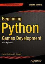 BEGINNING PYTHON GAMES DEVELOPMENT - NEW PAPERBACK BOOK