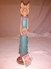 1992 Jim Shore Easter Rabbit Figurine signed with tag
