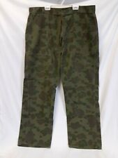 Vintage FROGSKIN PATTERN CAMO PANTS Fatigues Retro Utility Hunting Gear 38x29