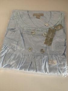 Beautiful Girls Little Linens Designer Vintage Sailor Dress Age 8-9