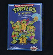 Teenage Mutant Hero Turtles - Quartett Spiel komplett - 1990  VintageTMNT