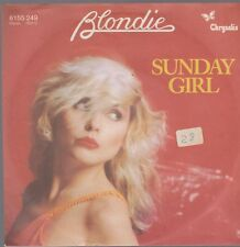 "7"" Blondie Sunday Girl / I Savoir But I Don ' T Savoir 70`s Chrysalide"
