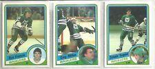 1984-85 O-Pee-Chee Hockey 15-card Hartford Whalers Team Set  Ron Francis