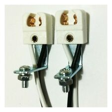T5 Lamp Holder with Long Bracket (1 Pair)