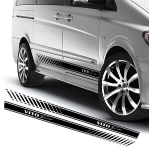 For MERCEDES VITO SPORT 2 x VINYL STICKERS Side Stripes DECALS Graphics
