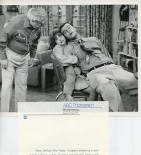 CINDY WILLIAMS PHIL FOSTER RICHARD MOLL LAVERNE & SHIRLEY ORIG 1981 ABC TV PHOTO