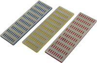 3pc Professional Diamond Whetstone Stone Sharpening Set Coarse Extra Fine-E2500