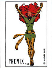 PHENIX / JEAN GREY X-Men PIN-UP POSTER Vintage art Marvel French Phoenix