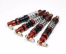 1/10 Shocks (4pcs) aluminum Red 95mm for Axial scx10 i ii custom TRX4 RC4WD