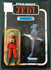 Star Wars Kenner Vintage B-Wing Pilot 1983 Cut Card ROTJ MOC Sealed