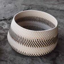 Korb aus Rattan Durchmesser 29cm Rattankorb 18cm hoch