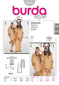 Burda Style Schnittmuster - Kostüm - Indianer - Tunika- Hose - Nr.5815