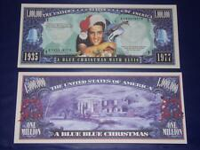 UNC.ELVIS PRESLEY NOVELTY NOTE ONLY .25 SHIPPING FREE SHIP + FREE NOTES!