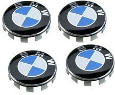 Lot 4 x Centre de Roue Cache Moyeu Logo Jante Emblème 68 mm Remplacement BMW