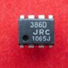 10pcs NJM386D JRC386D AUDIO DIP-8 New