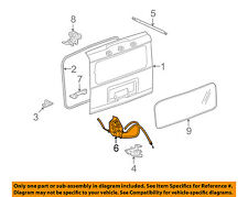 Hummer GM OEM 03-09 H2 Liftgate Tailgate-Control Assembly 15926027