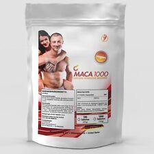 1000 Tabletten MACA a 500mg / Muskelaufbau - Natural Hormone Booster No Kapseln