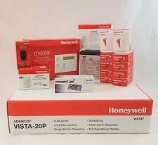 Honeywell Self Monitoring Kit-*NO MONTHLY FEES*- Vista 20p, 6160RF, EnvisaLink 4