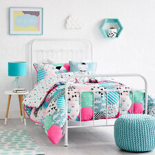 Adairs Kids Hattie Quilted Cot Quilt Cover Set - RRP