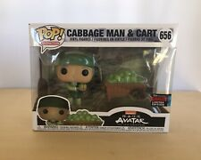 Funko POP! Animation Avatar #656 Cabbage Man & Cart NYCC 2019 Official Sticker