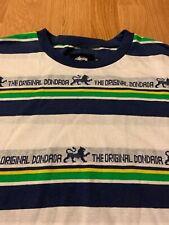 Stussy Rasta The Original Dondada Striped T-Shirt Size Men's Medium