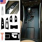 For LEXUS IS250 300 350 2006-2012 Carbon Fiber Gear Shift Box Panel Trim Cover