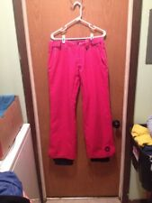 A4 WOMENS MEDIUM PINK SESSIONS RIDGE OUTERWEAR SKI SNOWBOARDING PANTS RECCO