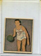 1951 Berk Ross #1-11 Bob Cousy Basketball - VgEx+
