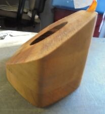 WOODEN WINCH TRANDUCER FAIRING BLOCK 45* CAN BE CUT TO KEEP DUCER WINCH STRAIGHT