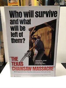 NECA The Texas Chainsaw Massacre: 40th Anniversary LEATHERFACE Action Figure MIB