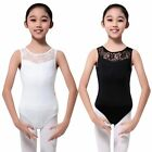 Baby Girls Sleeveless Lace Dancewear Leotard Clothes Ballet Gymnastics Costume