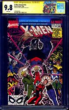 X-Men Annual #14 CGC SS 9.8 signed Chris Claremont 1st GAMBIT APPEARANCE NM/MT
