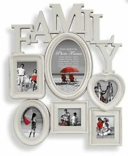 Family Multi Shabby Chic Photo Frame 18563