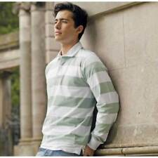 Front Row Polo, Rugby Striped Casual Shirts for Men