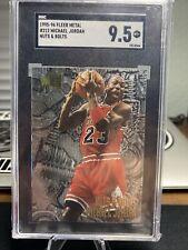 1995-96 Fleer Metal Nuts & Bolts #212 Michael Jordan Chicago Bulls HOF SGC 9.5