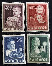 Timbre AUTRICHE / AUSTRIA Stamp - Yvert et Tellier n°765 à 768 n** (Cyn21)