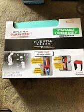 1 Five Star Stackable Locker Shelf Organizer Green 15 1/4� X 11 5/8 X 9 5/8