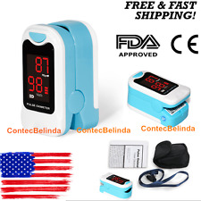 2017 New Fingertip Pulse Oximeter Blood Oxigen SPO2 Meter LED Display Monitor US