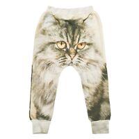Popupshop Cat Sweatpants Girls or Boys Size 8 - 9