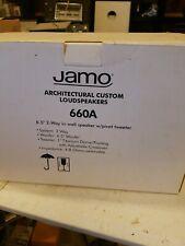 Jamo 660A Main / Stereo Speakers(Pair) new 6.5 2 way in wall speakers tweeter