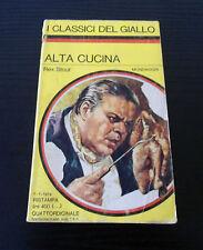 Alta Cucina - Rex Stout - I Classici del Giallo Mondadori N° 181 -